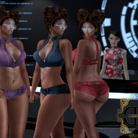 @1643~The Surreal Lyfe feat…-Desmonia- Hailey Twisted Buns & -Desmonia Nicki Shortset
